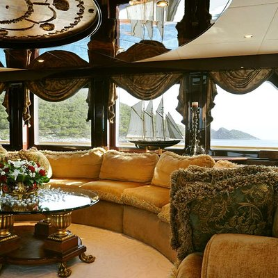 Ionian Princess Yacht Skylounge Seating