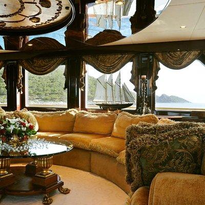 Ionian Princess Yacht Skylounge Seating