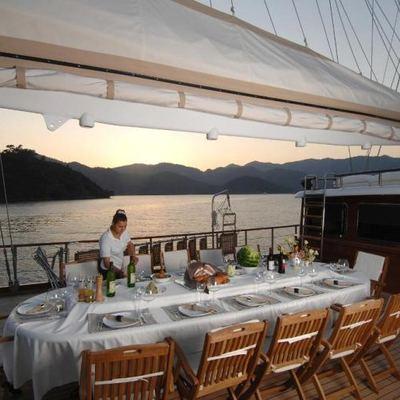 Goleta I Yacht Dining Table Set