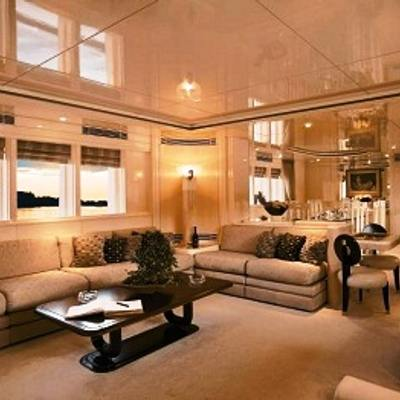 Carmen Serena Yacht Salon - Seating