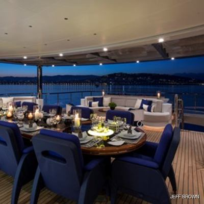 Arience Yacht Al Fresco Dining