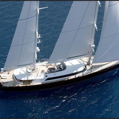 Parsifal III Yacht Underway