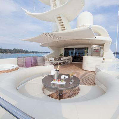 Sierra Romeo Yacht Bridge Deck Aft Starboard