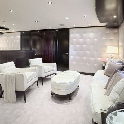 Carpe Diem Yacht Master Stateroom - Lounge Seating