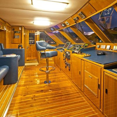 Big Eagle Yacht Wheelhouse