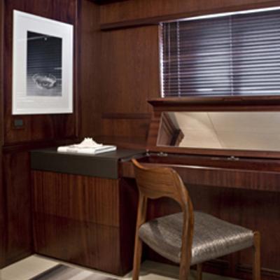 Cyan Yacht Master Vanity Area