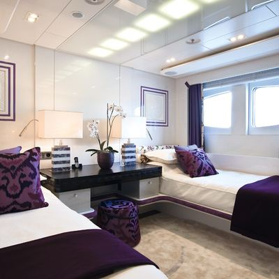 Quite Essential Yacht Twin Stateroom