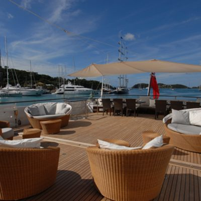 Mirage Yacht Deck Seating