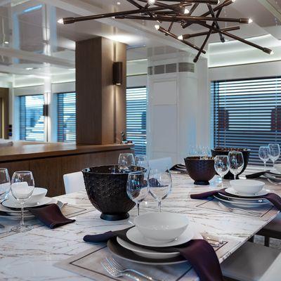 Liquid Sky Yacht Dinning Room