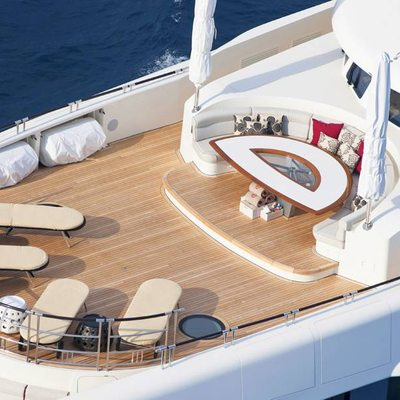 Quite Essential Yacht Aerial - Sundeck