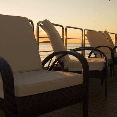 Elegant 007 Yacht Seating - Sunset