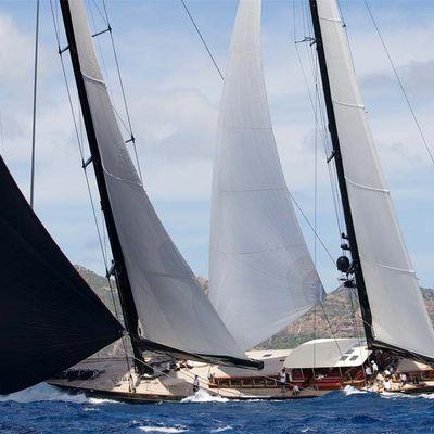 Marie Yacht Underway
