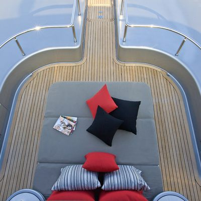 Silver Dream Yacht Bridge Deck Forward