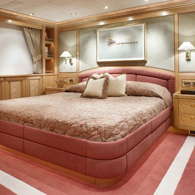 Laurel Yacht Guest Stateroom with King Bed-Orange