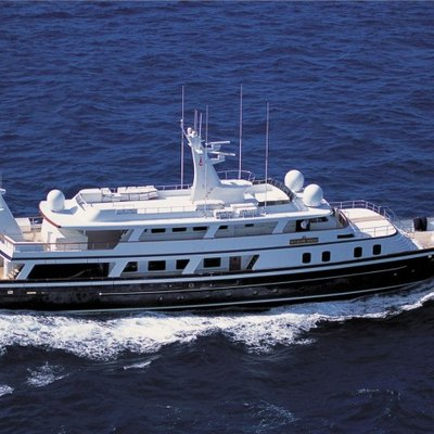 The Goose Yacht Running Shot - Profile