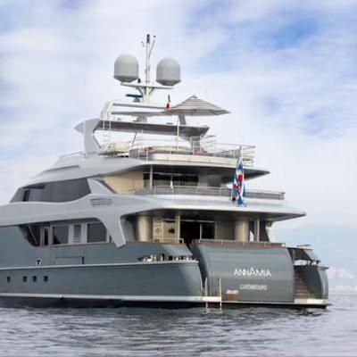 Annamia Yacht Aft