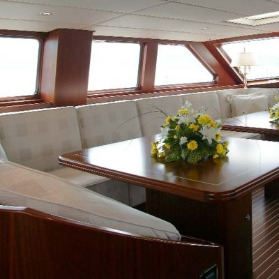 Infatuation Yacht Deck Saloon