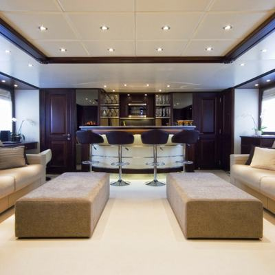 Accama Yacht Top Deck Saloon