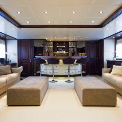 Accama Yacht Top Deck Saloon
