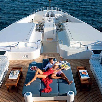 Sycara V Yacht Sun Pads