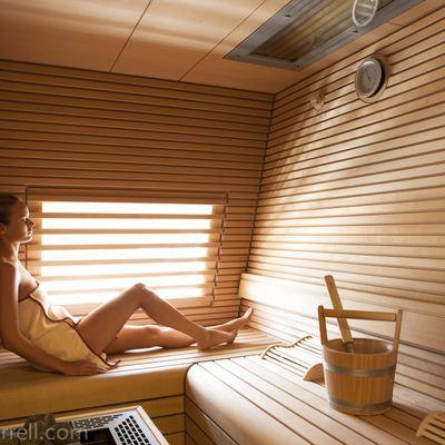 Quite Essential Yacht Sauna
