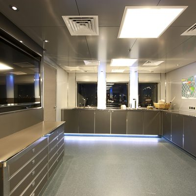 Naia Yacht Galley