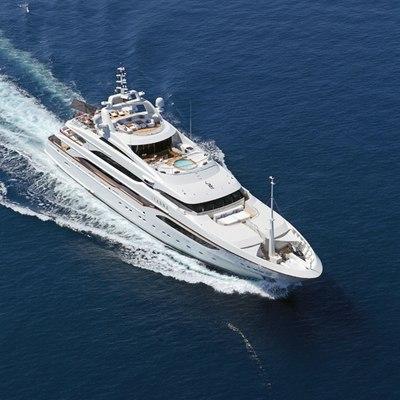 Seanna Yacht Overhead - Running Shot