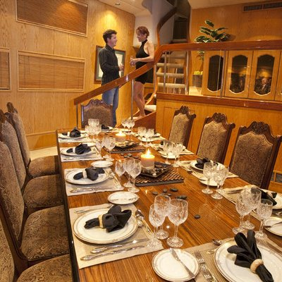 Le Montrachet Yacht Dining