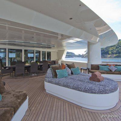 Hemisphere Yacht Main Deck Aft