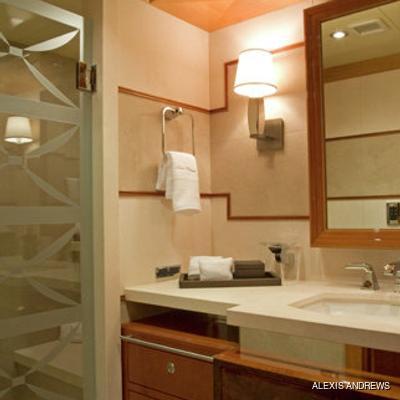 Impromptu Yacht Guest Bathroom