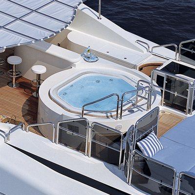 Jo Yacht Aerial - Jacuzzi