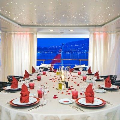 Latitude Yacht Exterior Dining
