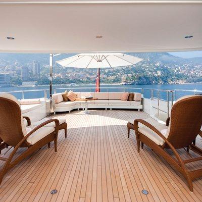 Northlander Yacht Upper Deck - Loungers