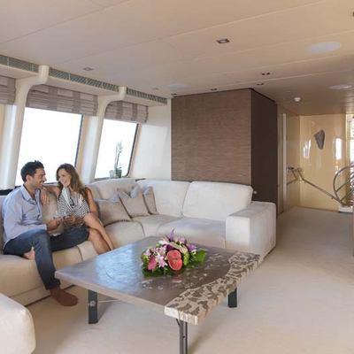 Daloli Yacht Upper Salon - Lifestyle