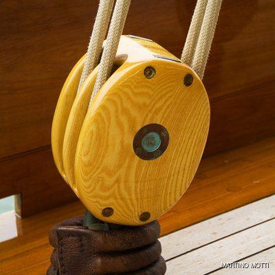 Lulworth Yacht Rigging Detail