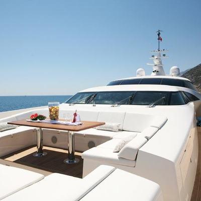 Namaste 8 Yacht Jacuzzi Area