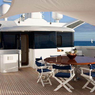 Diamond Yacht Sundeck Seating
