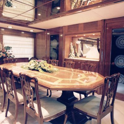 White Knight Yacht Dining Salon