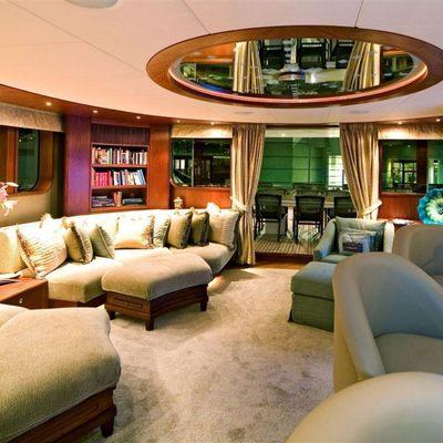 Solaia Yacht Upper Salon