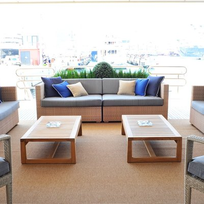 Neom Yacht Outdoor Seating Aft Deck
