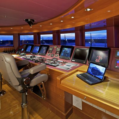 Mia Rama Yacht Flybridge