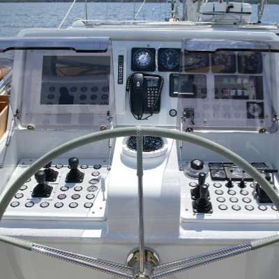 Infatuation Yacht Wheel
