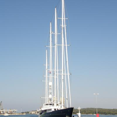 Enigma Yacht Moored