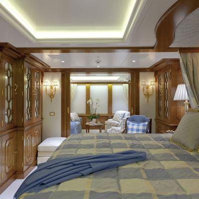 Lady Kathryn V Yacht Master Stateroom
