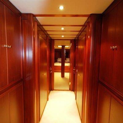Gem Yacht Hallway
