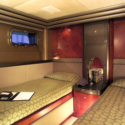 Silver Dream Yacht Twin Stateroom
