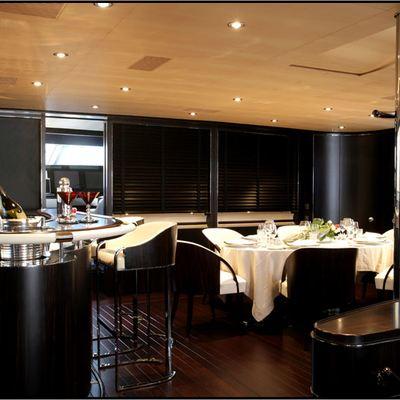 Parsifal III Yacht Bar