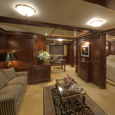 Teleost Yacht Master Stateroom - Seating