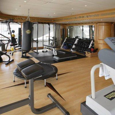 Freedom Yacht Gymnasium - Side View