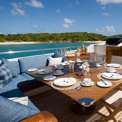 Antara Yacht Exterior Dining